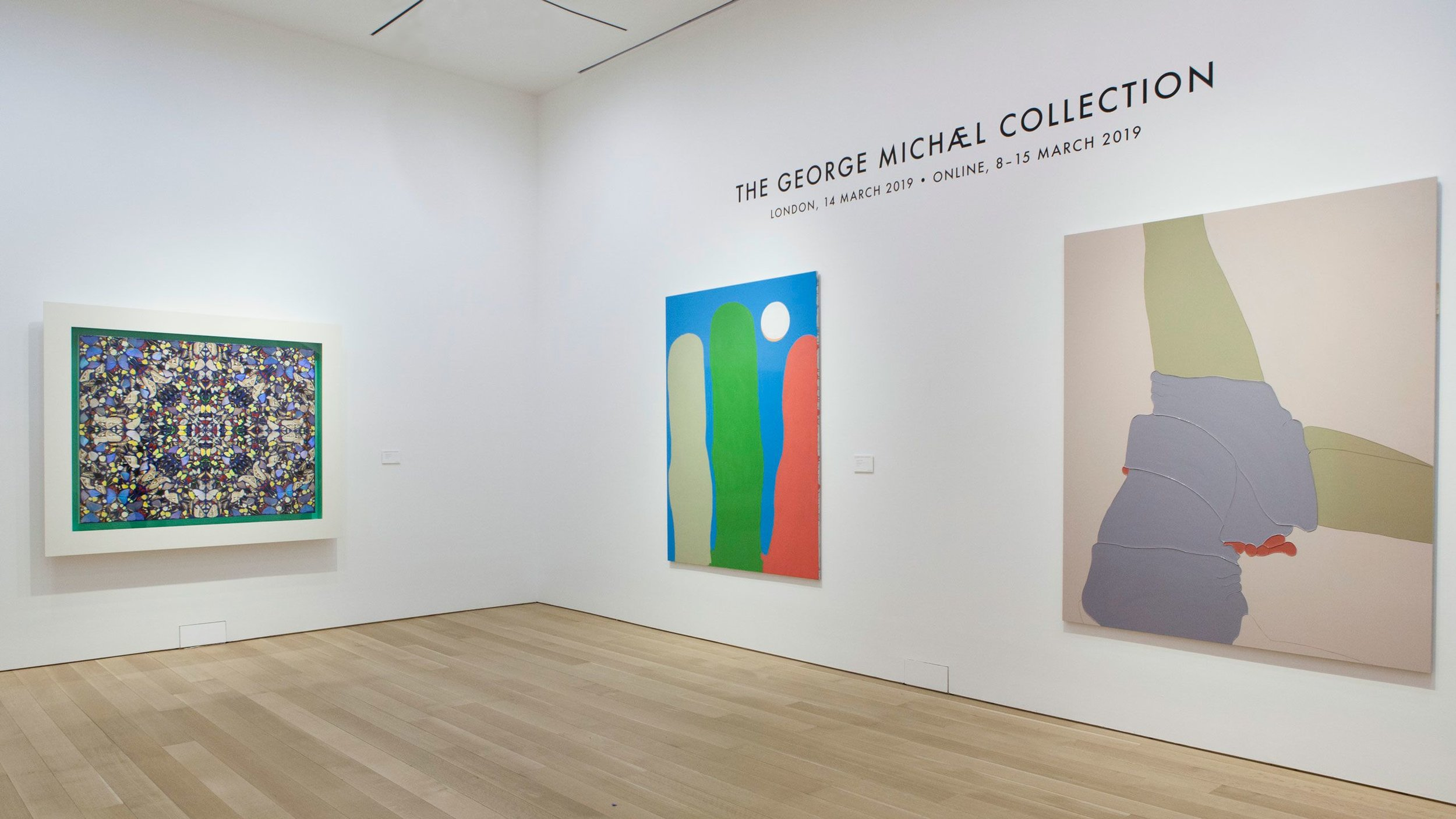 5 WORKS BY ADAM BALL INCLUDED IN THE ICONIC GEORGE MICHAEL COLLECTION AUCTION AT CHRISTIES'S. THE COLLECTION REPRESENTS A UNIQUE DIALOGUE BETWEEN GEORGE MICHAEL AND HIS BRITISH CONTEMPORARIES IN THE VISUAL ARTS.   March 2019