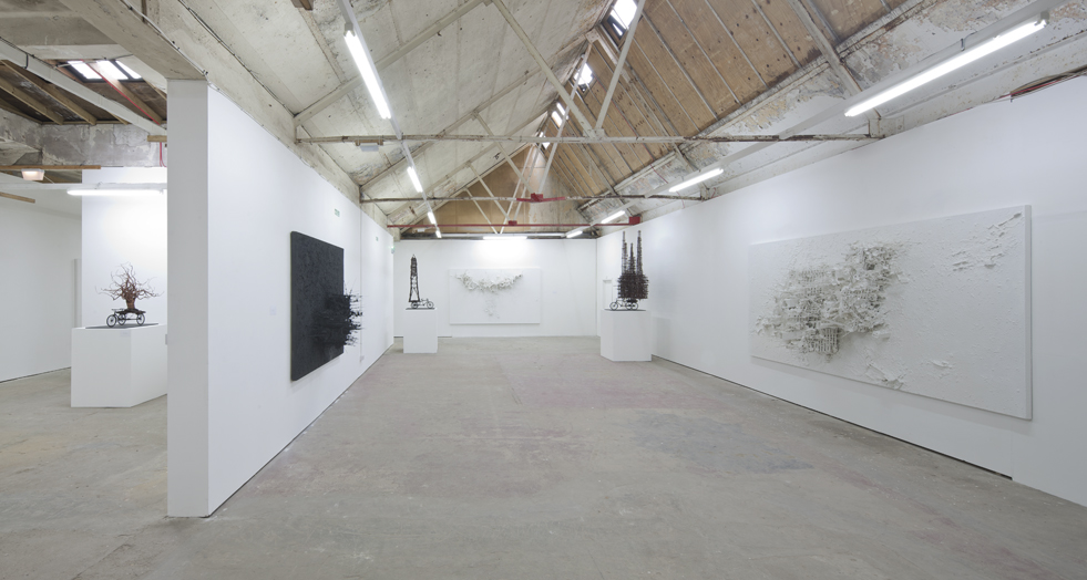 Gerry Judah Fragile Lands Exhibition Launched