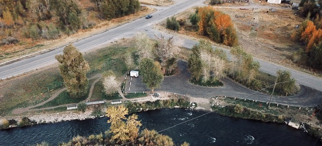 Aerial photo - Fall 2018 - courtesy of Harve Lake