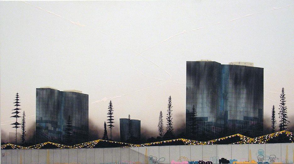 Image: Eric Benson, Liars (Talking Skulls),acrylic on canvas over panel, 2006 / ©Eric Benson