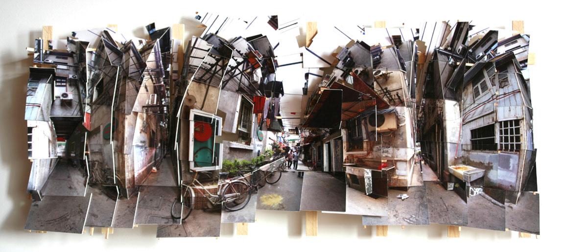 Image: Isidro Blasco,Courtyard In The Old City,c-print, museum board, wood, 2008 /©Isidro Blasco