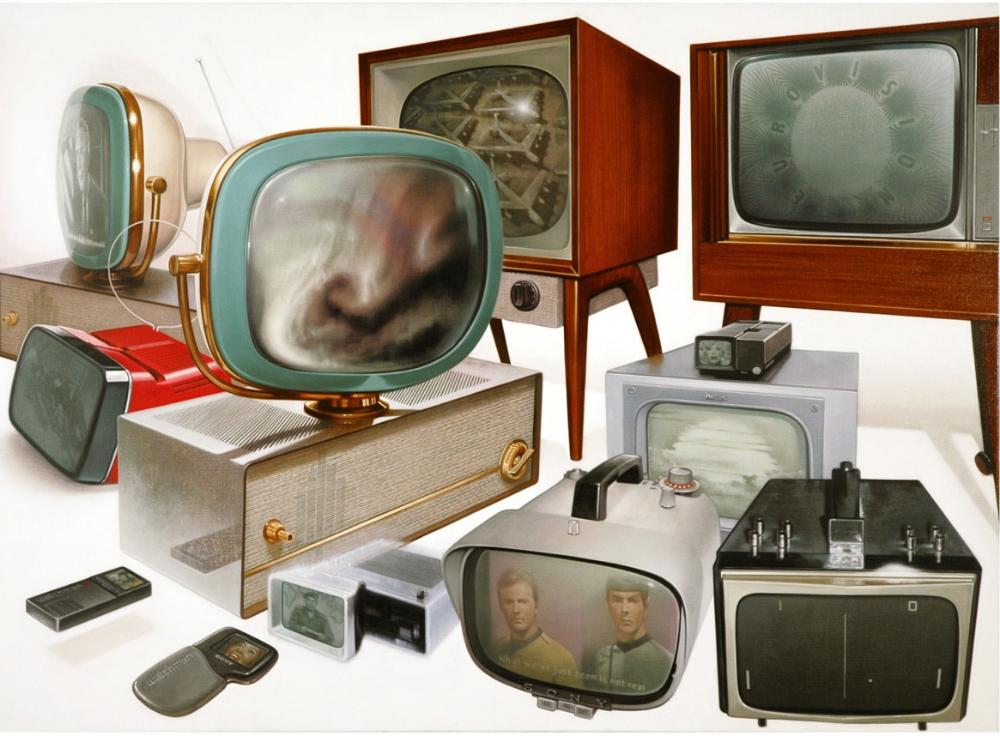 Image: Michael Van den Besselaar,The Time Machine Mirror #2,oil on canvas, 2007 / ©Michael Van den Besselaar