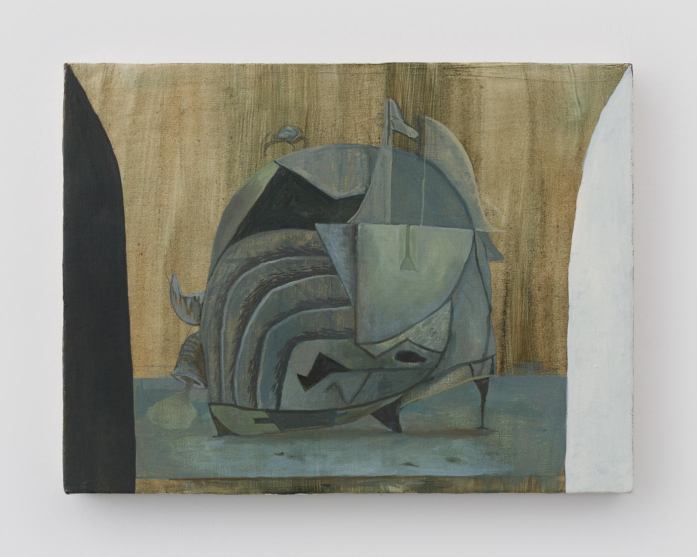 """Still Life with Sea Dingle, 2015 Oil on Canvas 12"""" x 16"""""""