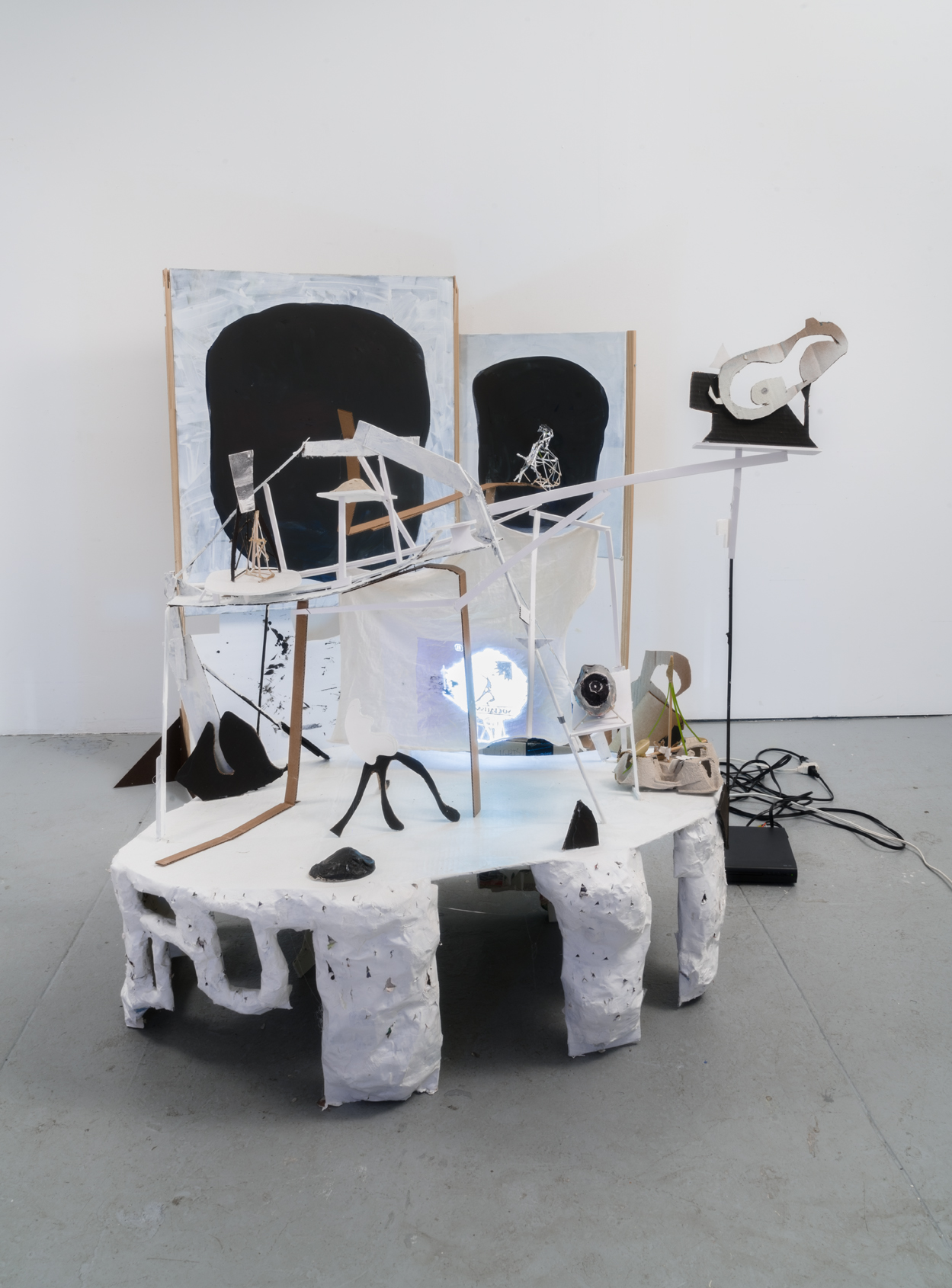 This Will Not Be Us, 2017 Scavenged Material Dimensions Variable