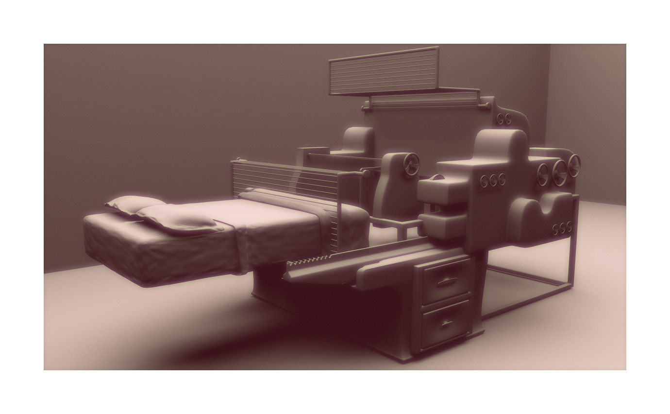 "Ground Series Untitled (Heidelberg) digital ink jet print, 40""x70"" 2014/16"