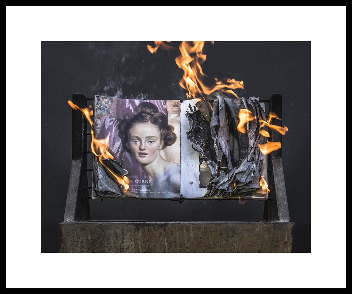 AiA Feb 2015 #0147F, 2019   Archival ink jet print on Epson exhibition fiber paper, framed Image: 18x24in, Paper: 24x30in, Frame: 25x31in, Edition of 5 with 2AP