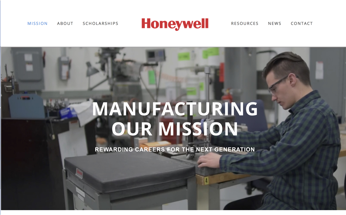 Honeywell - Manufacturing Our Mission