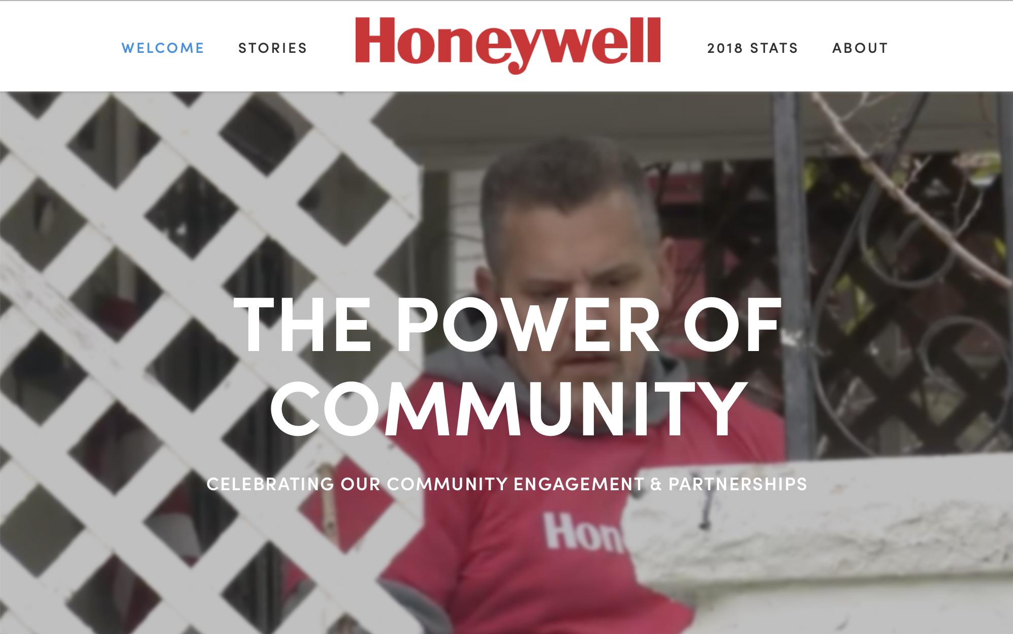 Honeywell - The Power of Community