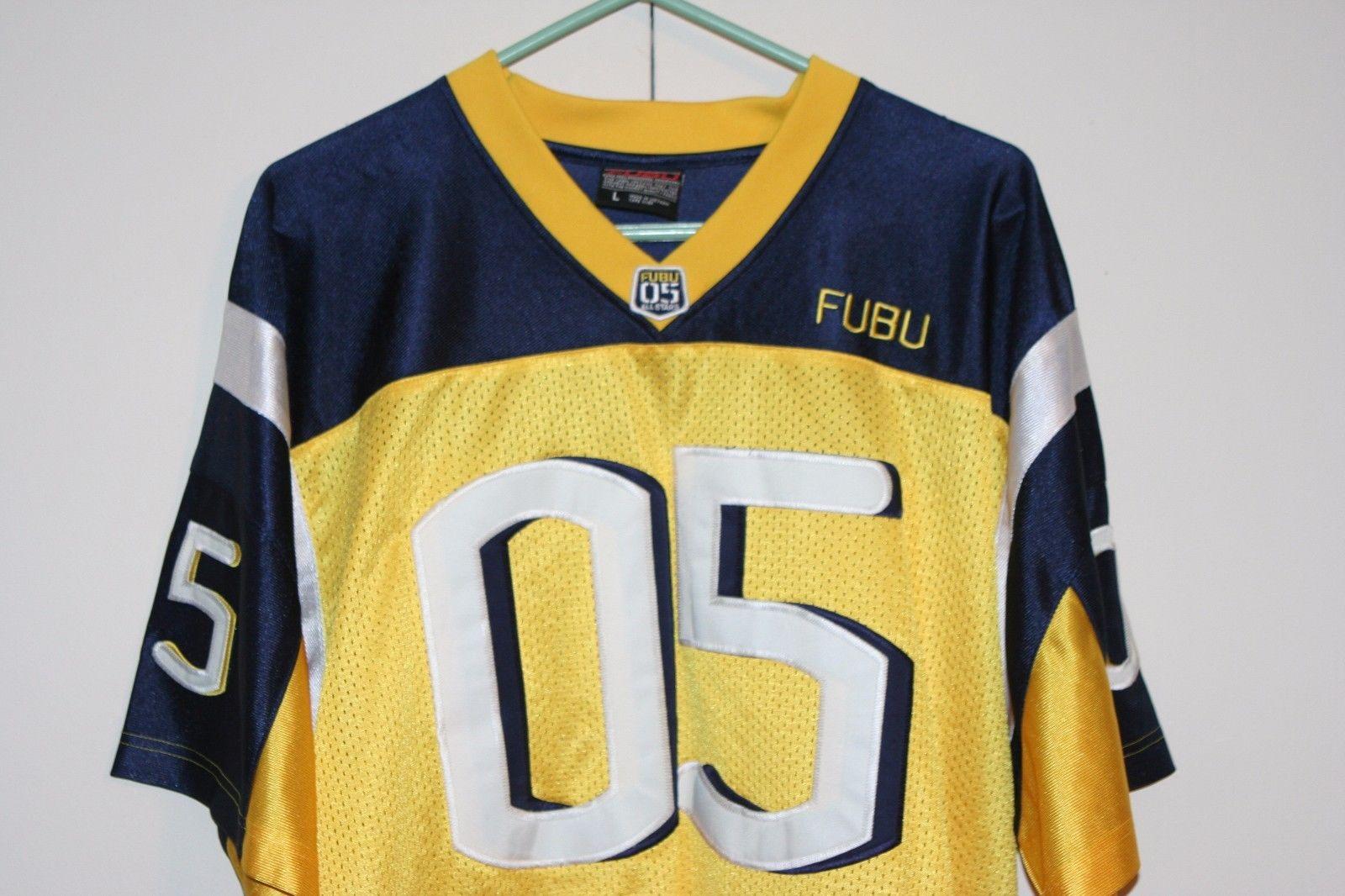fubu-sports-05-vtg-football-jersey-multi-yellow-blue-athletic-hip-hop-men-large-630cea36fd87b40838b3e7b94a7f1023.jpg