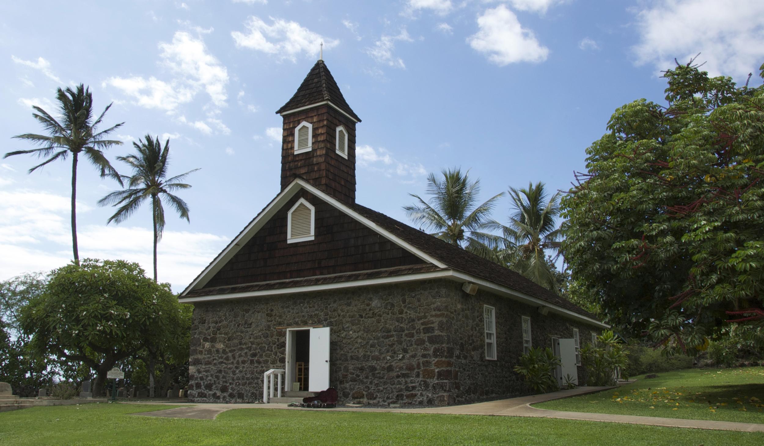 Class venue Keawala'i Church, Makena