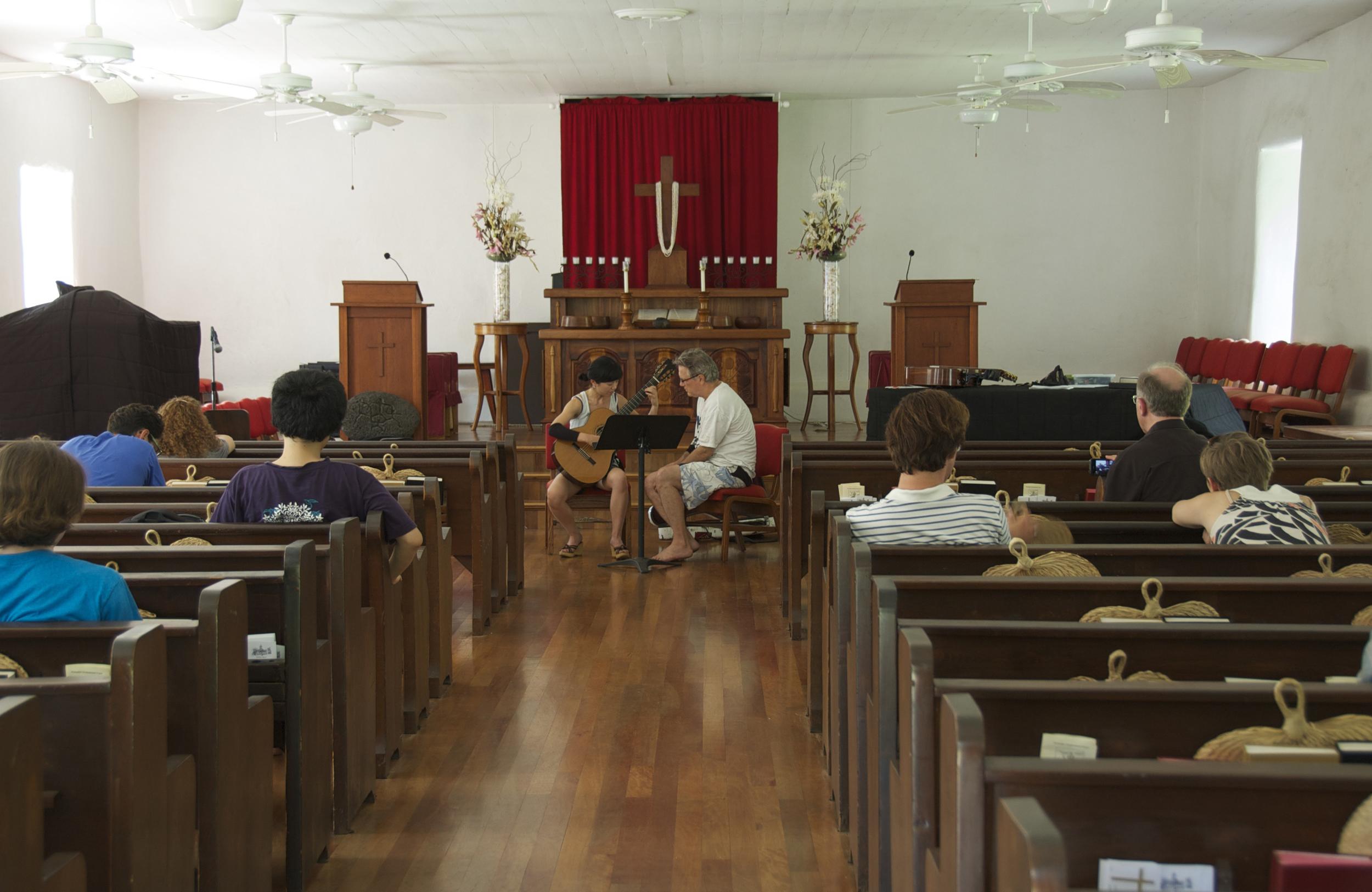 Ben teaching Eri Kumazaki (2013)