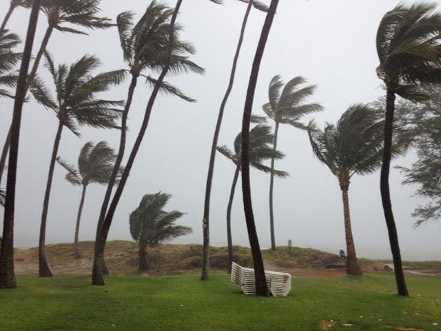 Storm at the Hale Kai O'Kihei