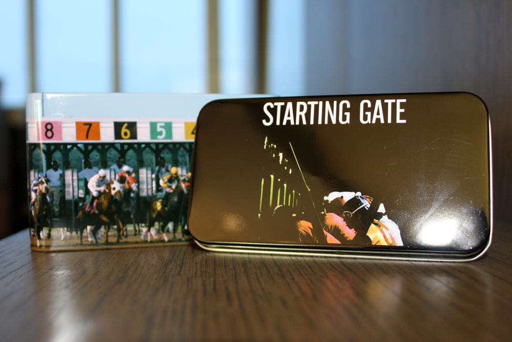 Starting Gate Toy and Tin