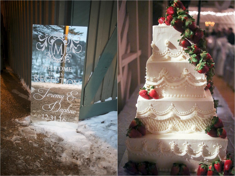 Jeremy + Daphne's New Year's Eve Wedding | Mountain Lake Wedding Photos by Virginia Wedding Photographer: Holly Cromer