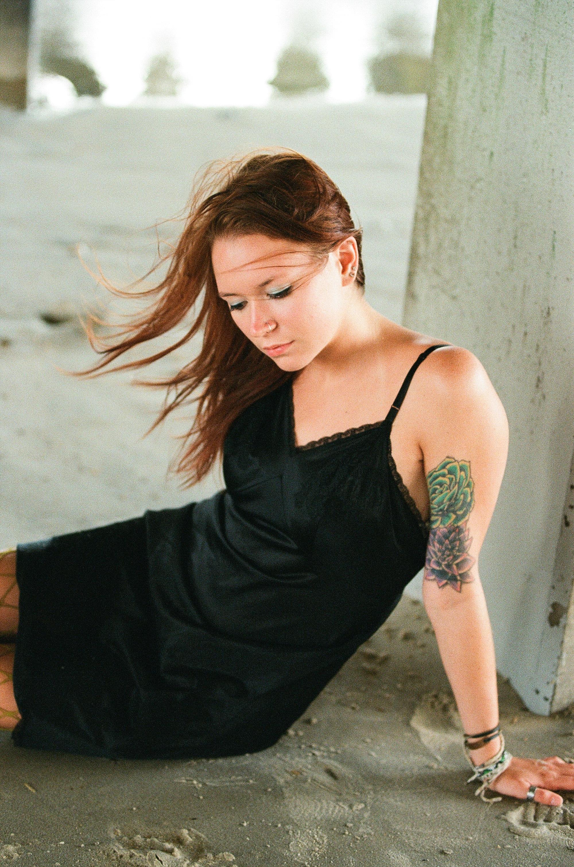 Mermaidens Portrait Series by Holly Cromer, Blacksburg Virginia Creative Portrait Photographer