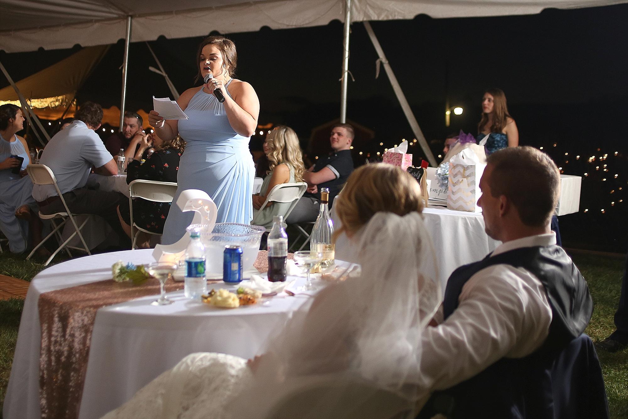 NeLea + Jesse's Backyard Wedding in Lebanon, Virginia | Southwest Virginia Wedding Photographers