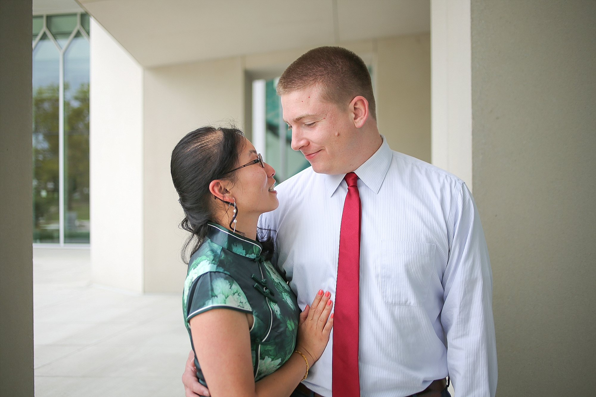 Hai + Eric's Virginia Tech Engagement Photos   Blacksburg Engagement Portrait Photographer