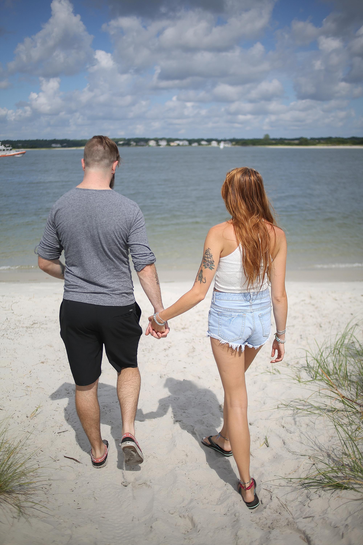 Wilmington + Wrightsville Beach, North Carolina Coastal Couples Photography