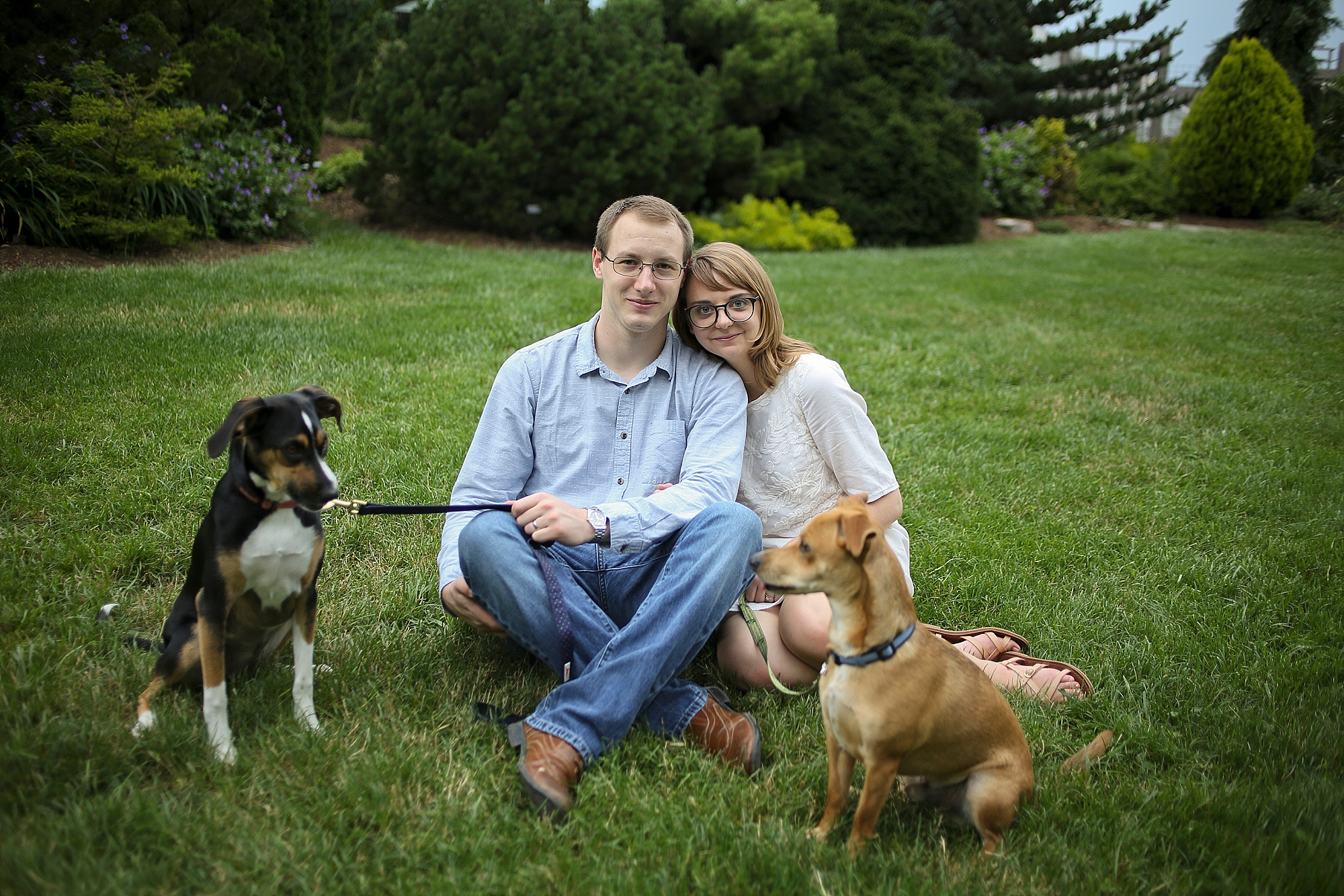 Anna + Nathan's Hahn Horticulture Garden Anniversary Photos | Blacksburg Wedding Photographer