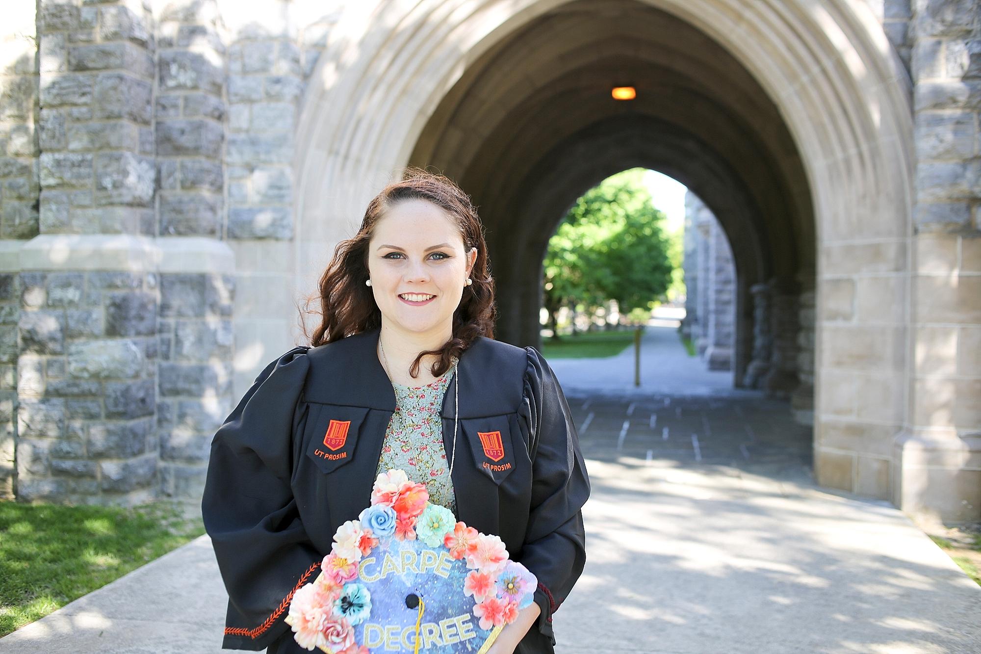 Rebecca | Virginia Tech Graduation Portrait Photographer, Holly Cromer