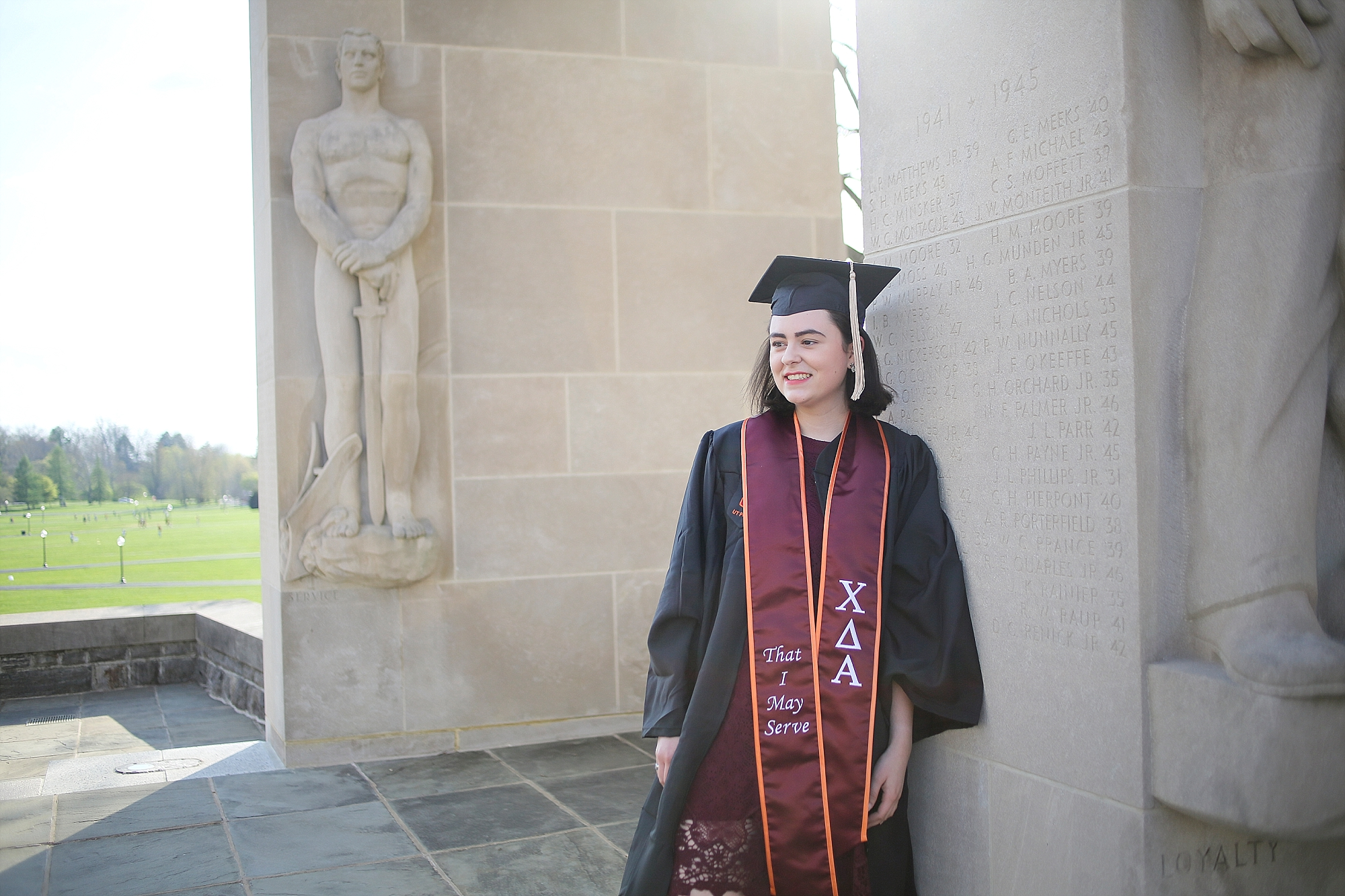 Charlie | Virginia Tech Graduation Portrait Photographer, Holly Cromer