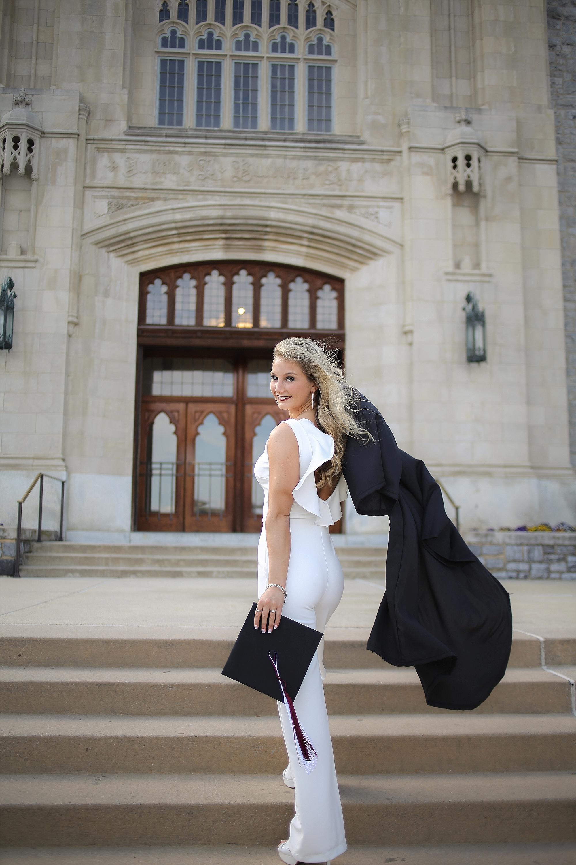 Amber | Virginia Tech Graduation Portrait Photographer Hokie Cheerleader Senior Portrait Photographer, Holly Cromer