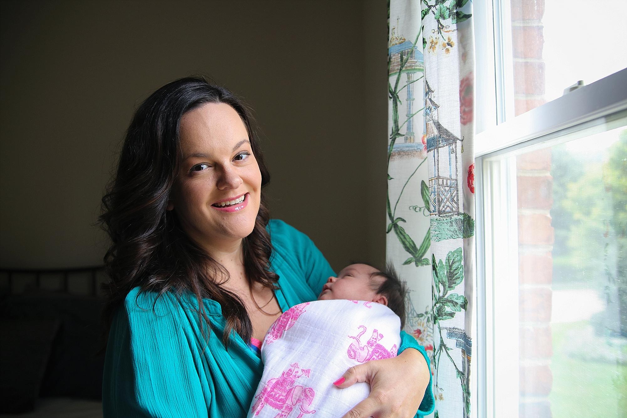 Blacksburg, Virginia Newborn Portrait Photography by Holly Cromer, Photographer