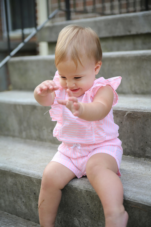Skylar's First Birthday Cupcake Smash | Blacksburg Family Photographer, Holly Cromer
