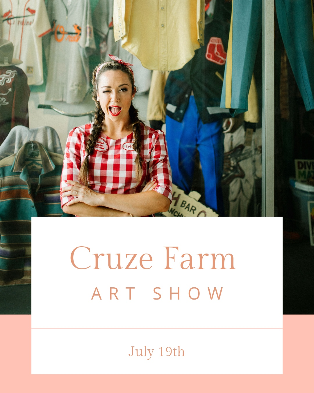 At The Asbury Ice Cream House - We are excited to announce our second Cruze Farm! 20% of the proceeds from art that is bought will go to National YoungArts Foundation. National YoungArts Foundation is a charity that focuses on creating a community of philanthropy and support for young artists so that they feel encouraged and empowered to create their work. To learn more you can visit https://www.youngarts.org/about The deadlines are as follows!-July 10th Submissions are due. Click here-July 14th Selected Art is due at Asbury by 9:00PM-July 19th Art Show at 7:00PM