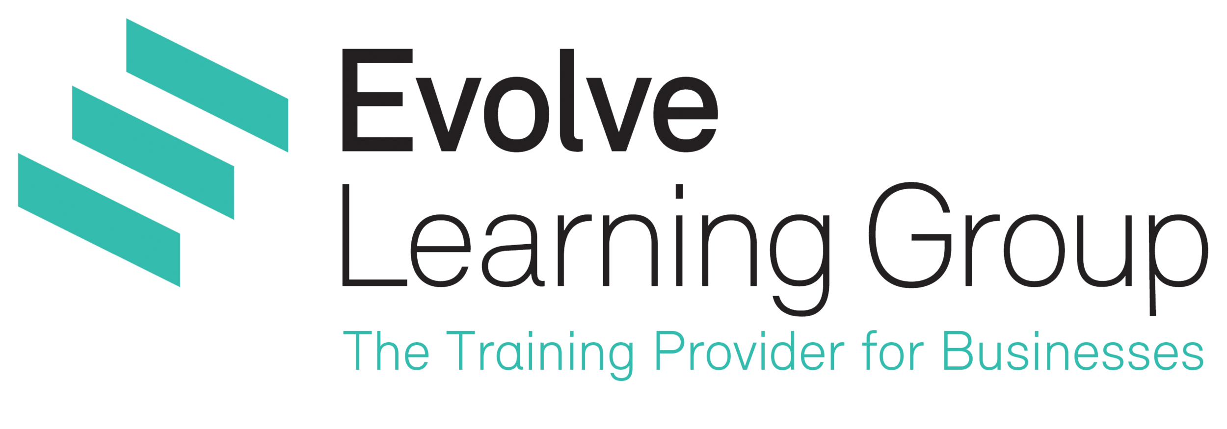 Evolve_colour_black_(TRANS BACK) - Training Provider for Businesses.png