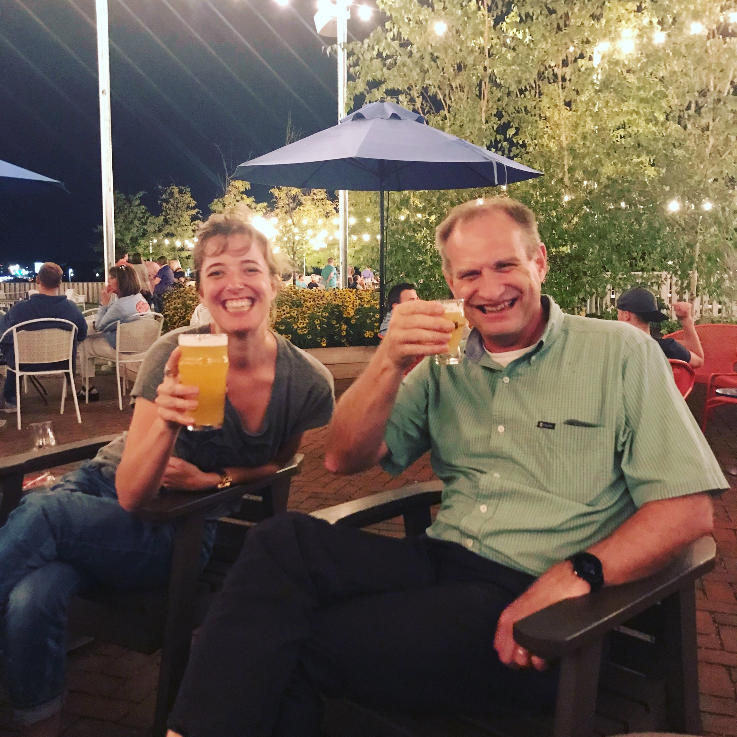 Heidi and Mark