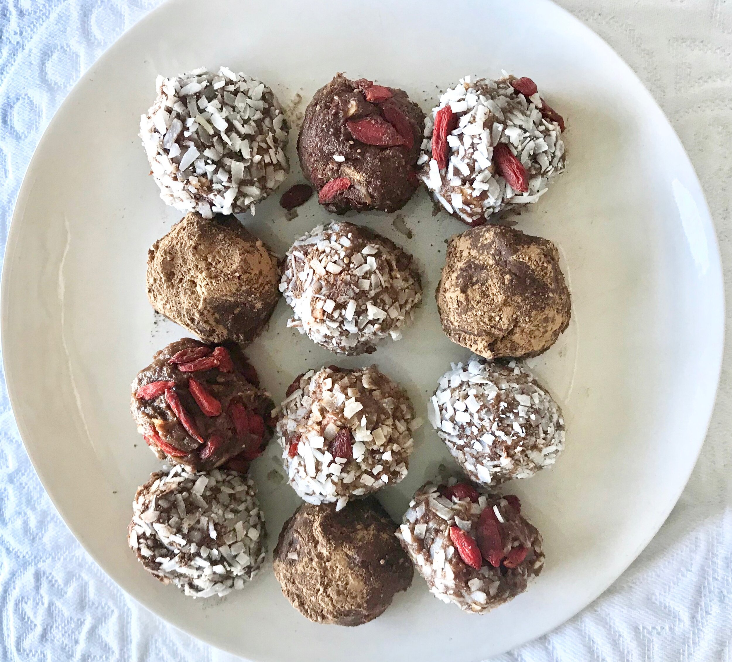 Salted Caramel Superfood Truffles 2