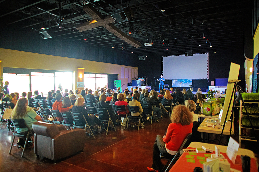 One of our favorite speakers was the author of the Shack, Paul Young, and because of the inspiration from this event, our family committed to hosting events out of our home for year!
