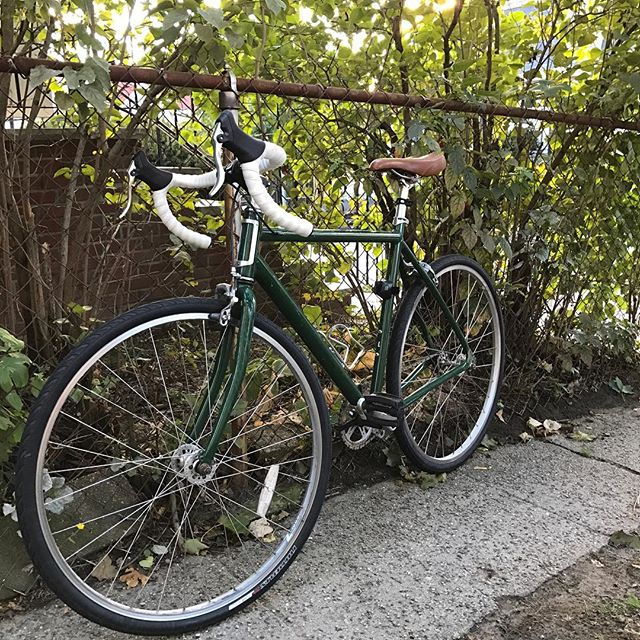 Recently bought a used bike for commuting, didn't realize it would turn into an obsession.