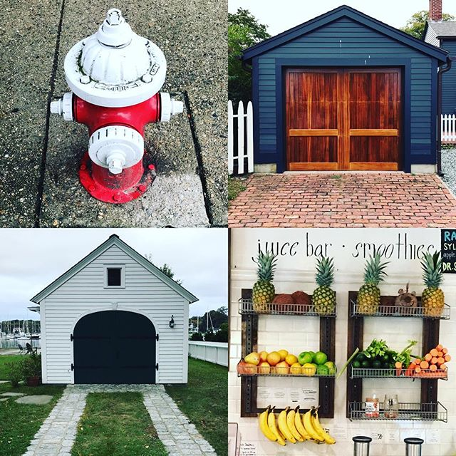 Today was a hydrants, garages, and fruit day.