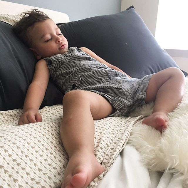 They've found that sleep gives our bodies a chance to clear out plaque from our neural pathways. This improves our functionality and staves off dementia.  I'm convinced something similar happens in parents when their toddlers sleep. It gives you a chance to clean up your channels of love, and fights against emotional exhaustion.  Sleep on, tiny giant. It's good for us both! #rahmytt