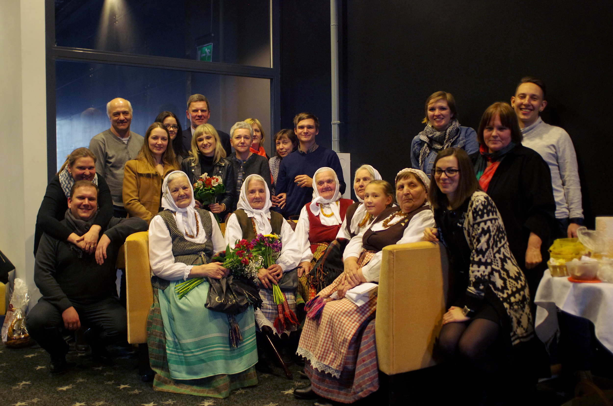 World Premiere at the Vilnius International Film Festival in Vilnius, Lithuania (March 2015).