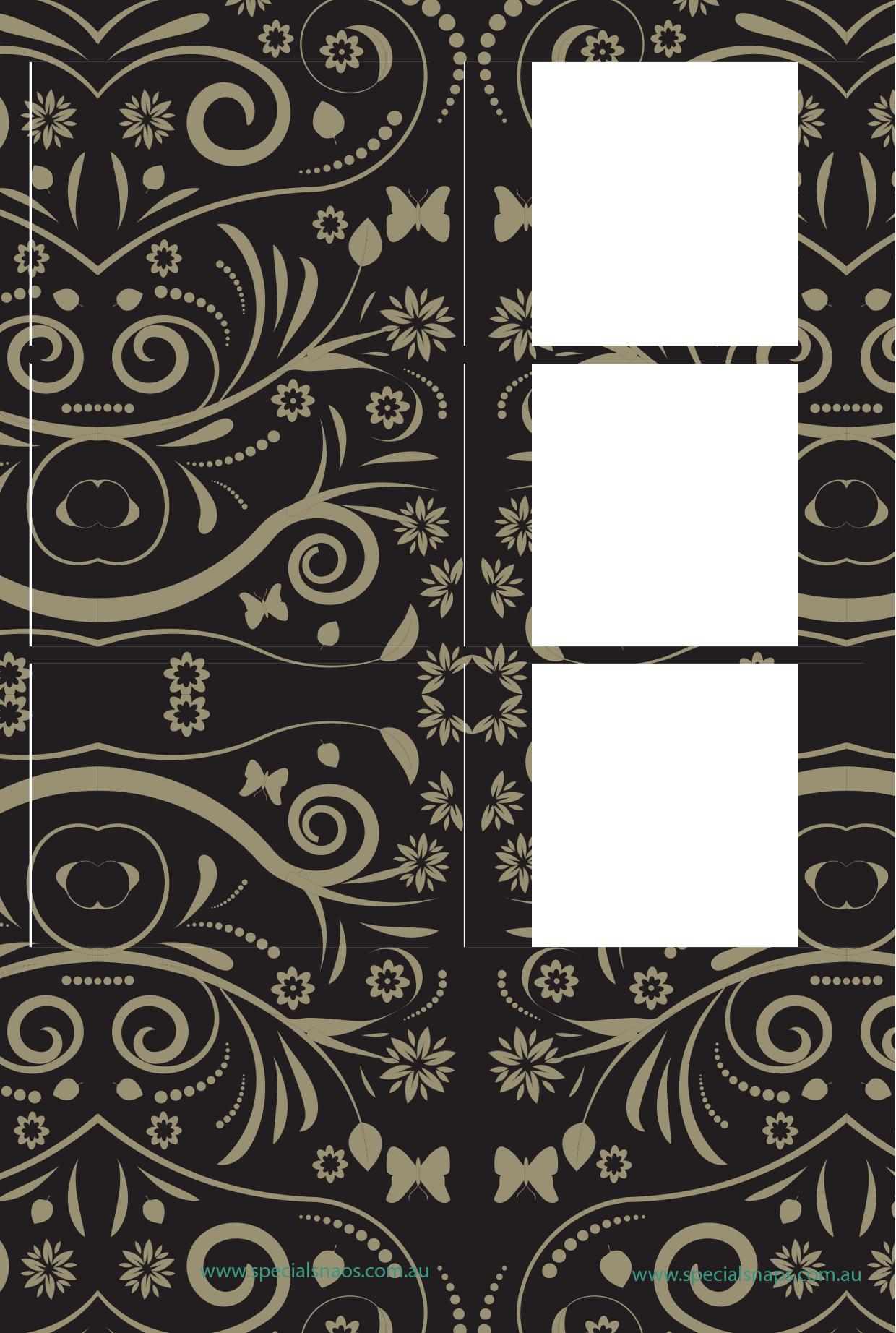 15. Black & Gold Pattern