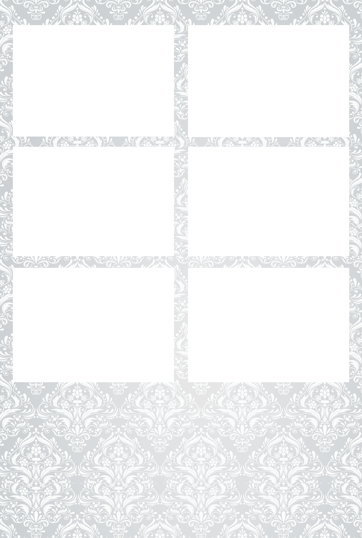 2. Grey Flowers