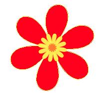 12. Red Flower