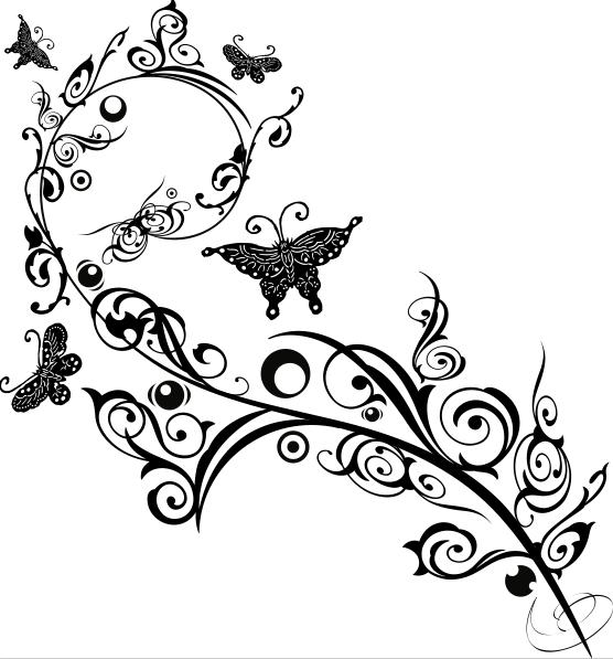 11. Black Butterflies