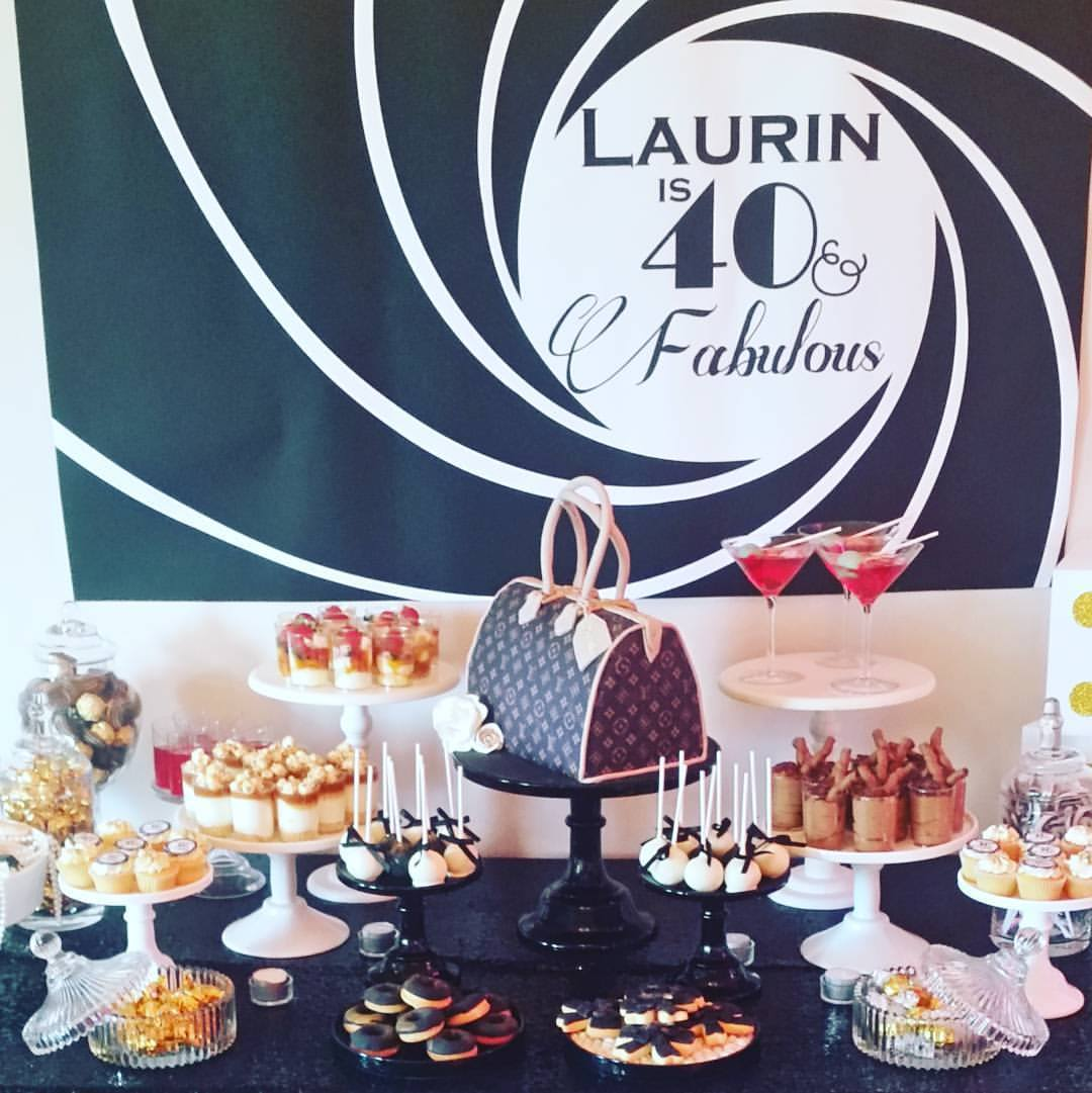 Laurin's 40th Birthday     6th February 2016