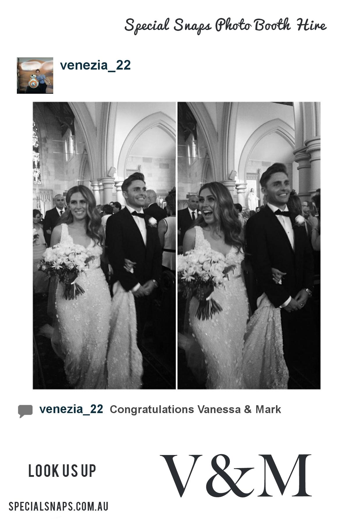 Wedding of Vanessa & Mark    13th February 2016