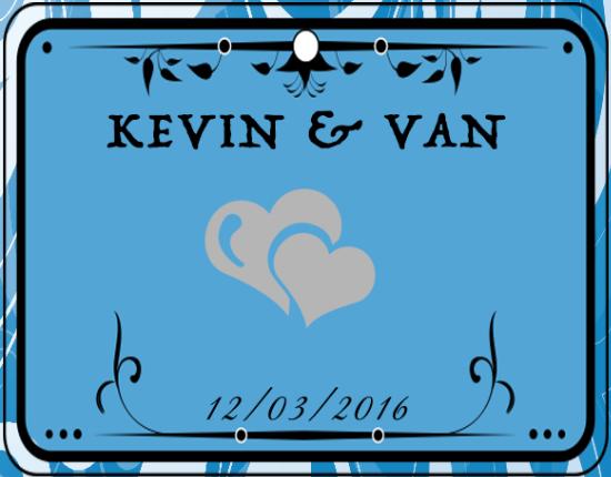 Wedding of Kevin & Van    12th March 2016