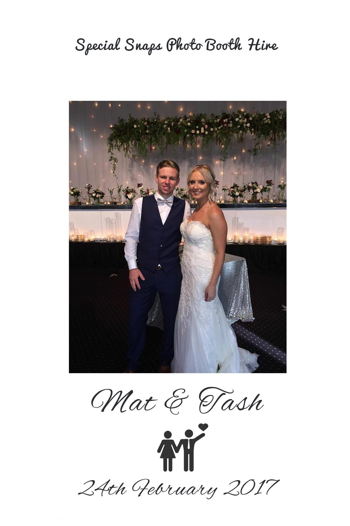 Wedding of Mat & Tash    24th of February 2017