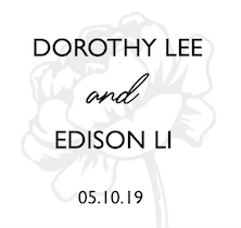 Wedding of Dorothy & Edison    5th of October 2019