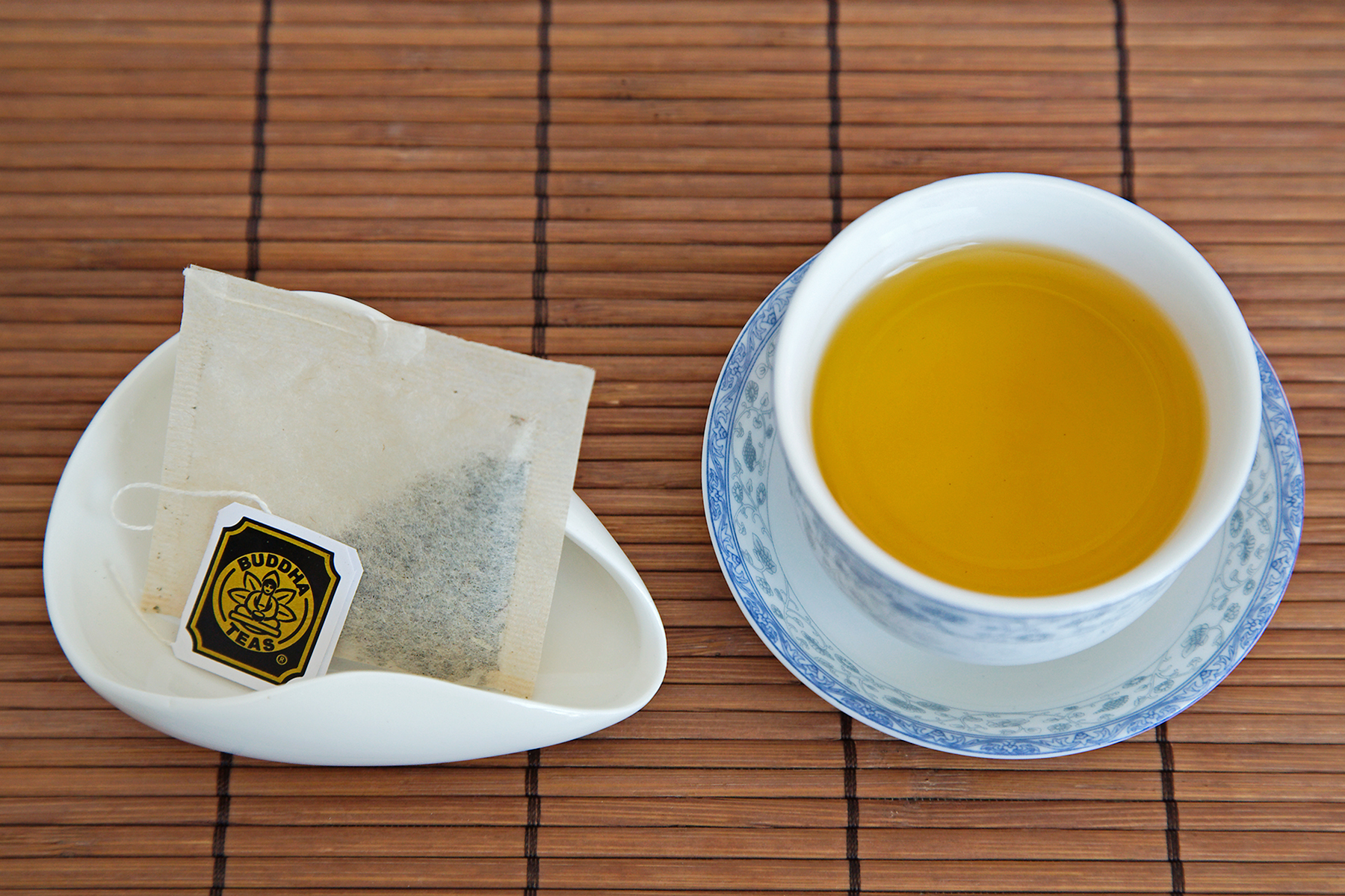 Saffron & Green Tea - Buddha Teas