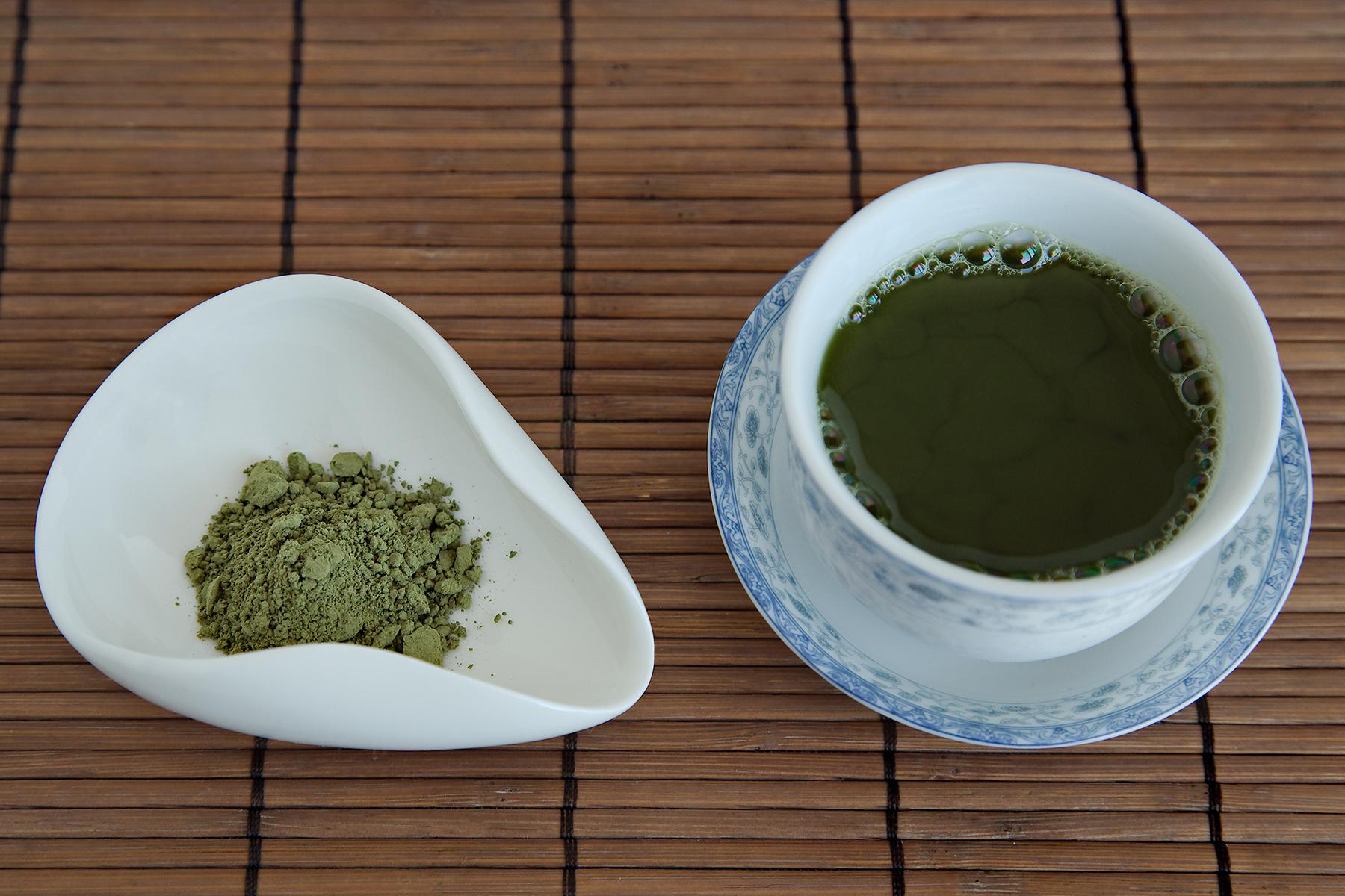 Red Leaf Tea – 100% Organic Starter Matcha, Culinary Grade