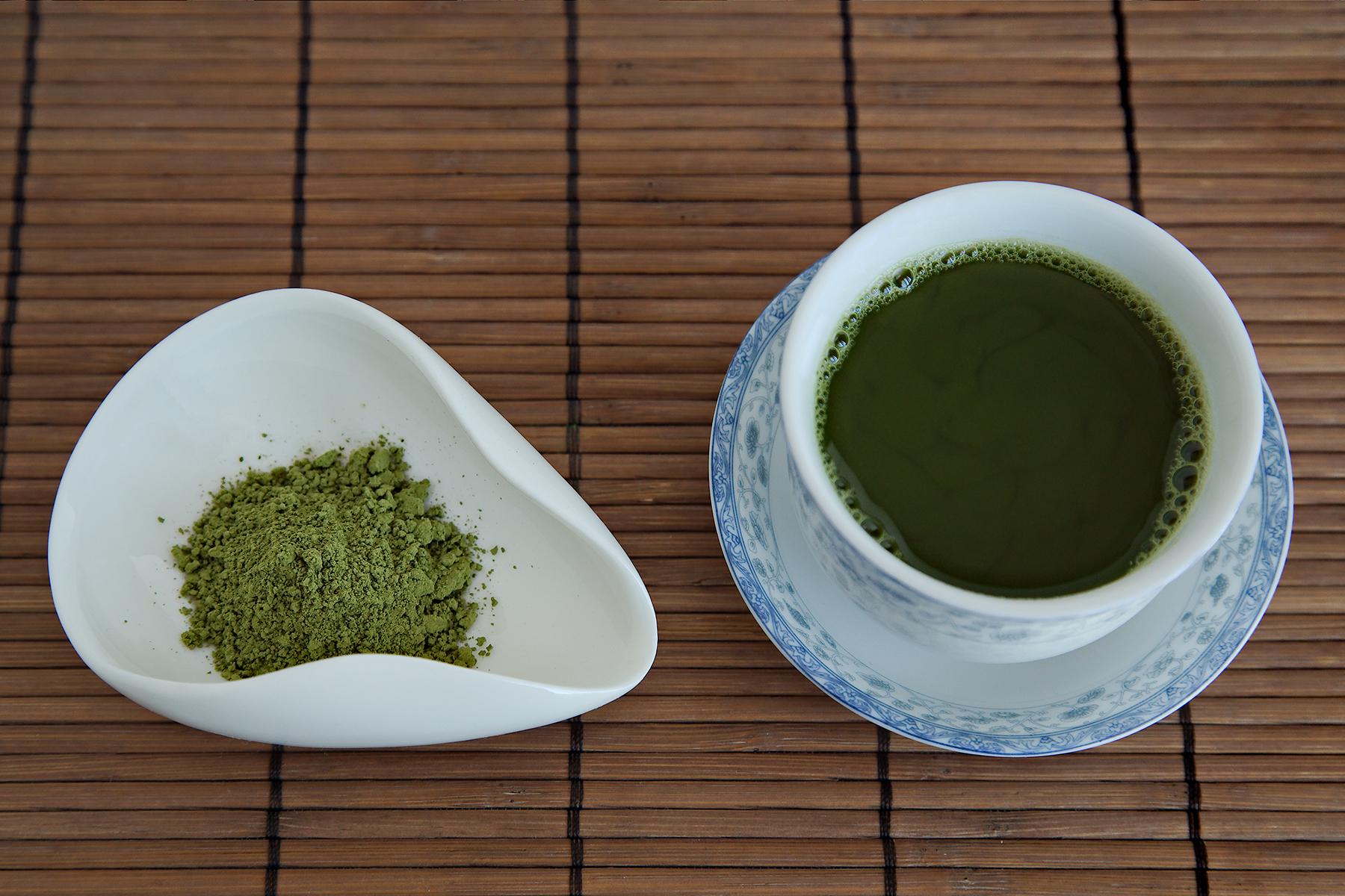 Red Leaf Tea – 100% Organic Deluxe Matcha, Culinary Grade
