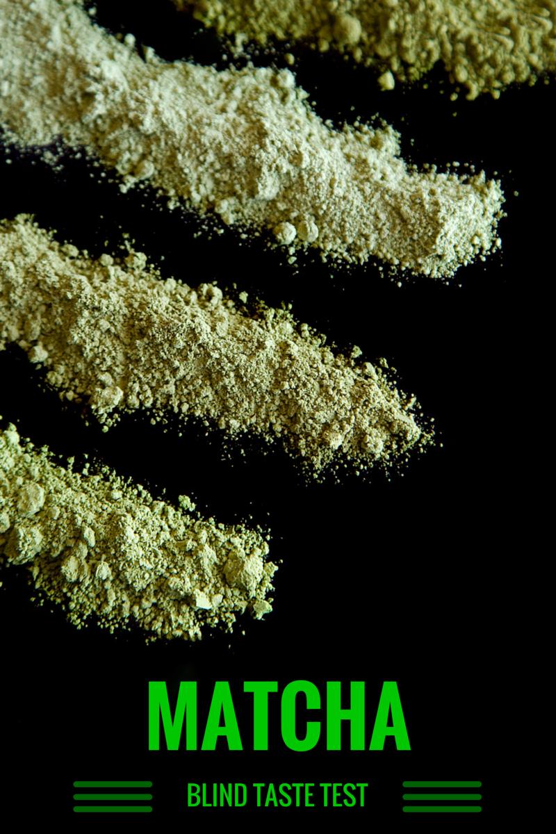 Matcha Blind Taste Test - Not Starving Yet